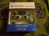 PS4 Dualshock 4 Controller (Urban Camo) BNIB
