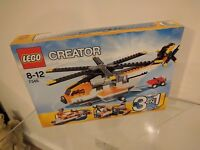 Lego Creator 3 in 1 Helicopter / Plane / Boat - Set 7345 - Brand New + Unbuilt
