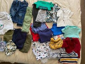 12-18 months & 18-24 months baby boy clothes