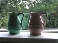 2 Covancroft (glasgow) collectable jugs