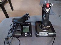 Saitek X52 Pro Flight Simulator Controller