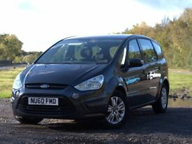 Ford S-Max Zetec 2010 (60) -LOW MILEAGE - only 2 owners - Full main dealer service history- MOT 9/17