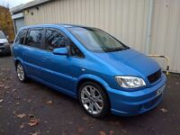 Vauxhall Zafira GSi 2.0 Turbo // Very Rare Car // 7 Seater Seats // Credit and debit cards excepted