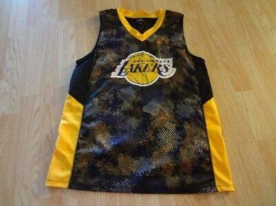 1fdf5f89f6f Men s Los Angeles Lakers M UNK Camo Jersey - LeBron Magic Kobe Shaq