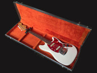 1965 Fender Mustang Olympic White all original with case