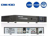 4 CHANNEL DVR BRAND NEW WITH FULL INSTRUCTION CONNECT UP TO 4 CAMERAS TO VIEW WORLDWIDE