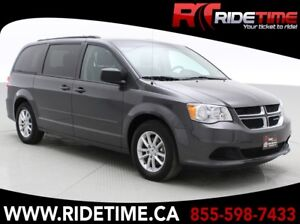 2016 Dodge Grand Caravan SXT Plus - Rear DVD, Alloy Wheels, Tri-