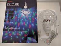 ION Disco /DJ / Party Light / rotating mirror ball effect