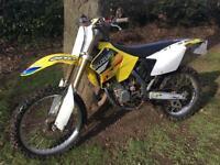 2004 Suzuki rm125 road registered 6 speed legal rm 125 crosser mx enduro