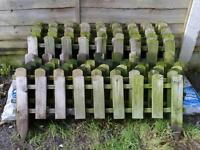 Sold stc PICKET FENCE/FENCING x15