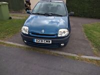 FOR SALE RENAULT CLIO 1.4 S