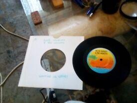 7inch Bob Marley - Waiting in Vain. Vinyl record.