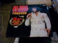 Elvis Forever Vinyl Record.