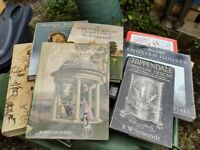 A collection of Country house and furniture books