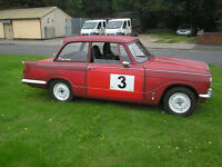 1970 triumph herald 13/60 classic car boy racer!!