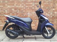 Honda Vision 110, Excellent Condition, Only 2414 miles!