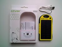 Levin 5000mAh Solar Charger / Power bank