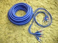 Multicore Stage Cable 8 Way 6mm Mono Jack 15 Metre
