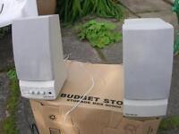 pair of SoundForce PC speakers