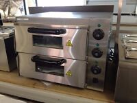 """Pizza Oven 2 deck 2x16"""""""