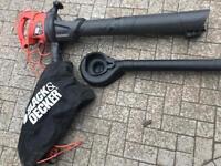 Black & Decker Blower, Vacuum & Mulcher