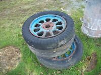 "vintage tyres 16"" landrover etc"