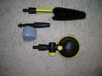 3 PCE CAR CLEANING KIT TO FIT ALL KARCHER PRESSURE WASHERS