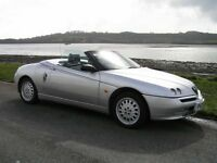 Alfa Romeo Spider Phase 1 reg. 1997 New Mot appreciating classic Cheap Summer Fun !