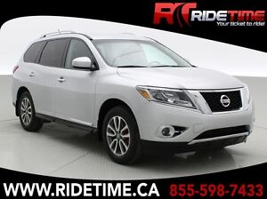 2014 Nissan Pathfinder SL 4WD - 7 Passenger, Leather, Alloy Whee