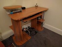 Desktop/Office Table in Good Condition with Chair