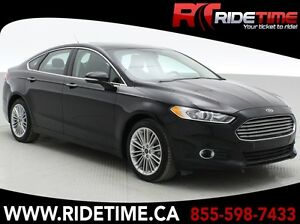 2016 Ford Fusion SE AWD - Leather, Sunroof, Navigation