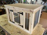 Indoor Dog Kennel Wooden Dog Crate