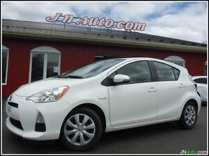 2012 Toyota Prius C Hybrid Synergy Drive