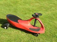 Red sway car