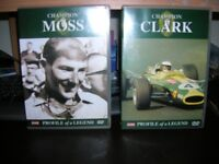 Six Formula 1 Motoring based DVDs