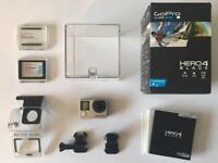 GoPro Hero 4 Black + Accessories & Batteries
