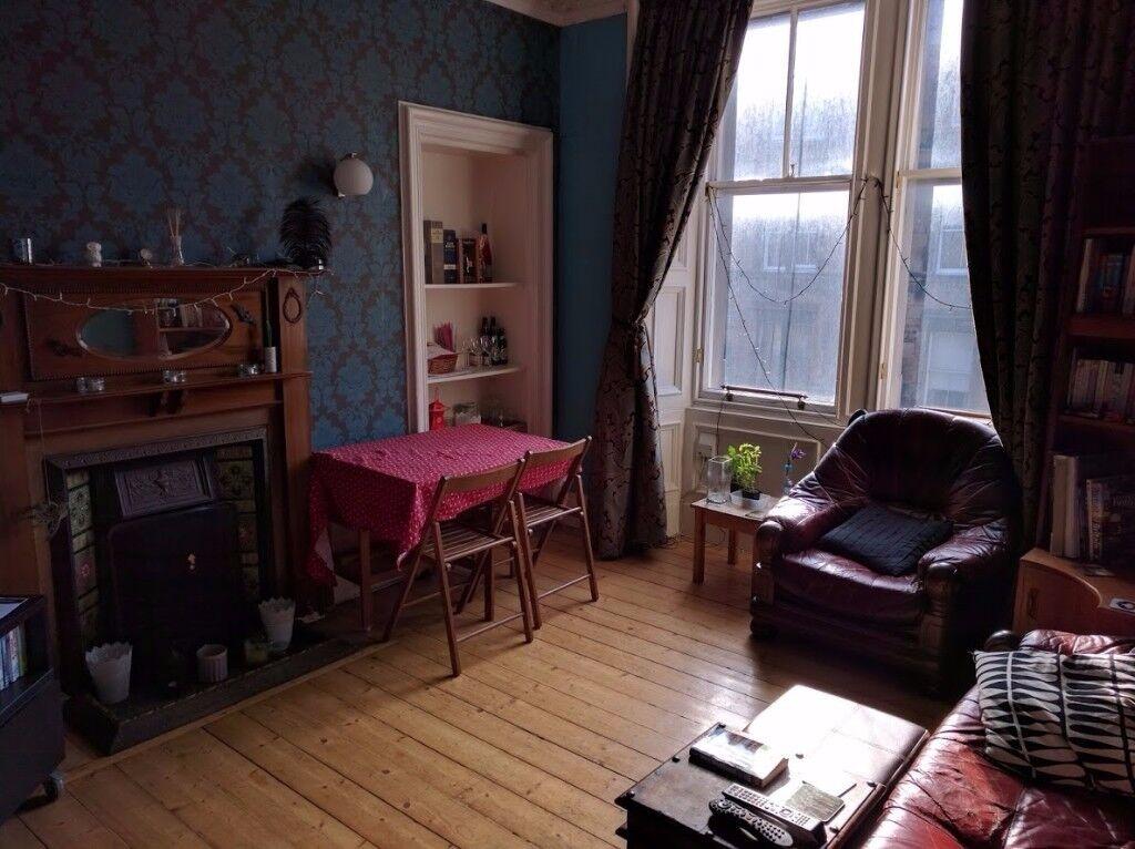 Double room in Bruntsfield £425 all inclusive (min 1 year)