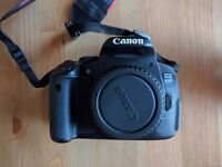 Canon 650d BODY ONLY + Charger + 3 Batteries