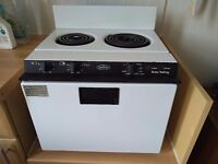 2 ring Baby Belling oven