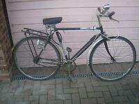 1960s bike all original even pump