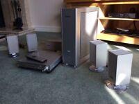 Panasonic multi speaker DVD system
