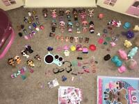 LOL dolls huge variety bundle