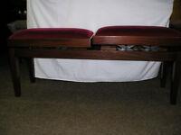 Piano Stool Double Adjustable