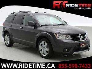 2014 Dodge Journey R/T AWD - 7 Pass & DVD - ONLY $163 Bi-Weekly!