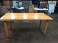 1600mm x 750mm Table - Beech