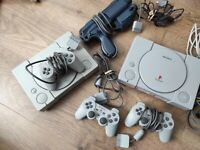 Sony Playstation 1 Ps1 console and psp games bundle