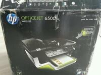 Hardly used HP Officejet 6500 wireless printer scanner fax & copier