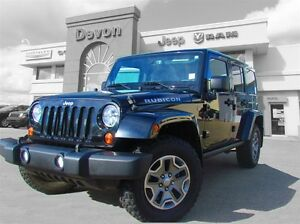 2013 Jeep WRANGLER UNLIMITED Rubicon, Dual Top // Accident Free