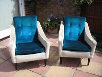 4 Seater Sofa Bed & 2 matching armchairs