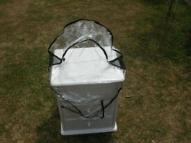 MOUNTAIN BUGGY PUSHCHAIR WEATHER PROTECTION COVER.